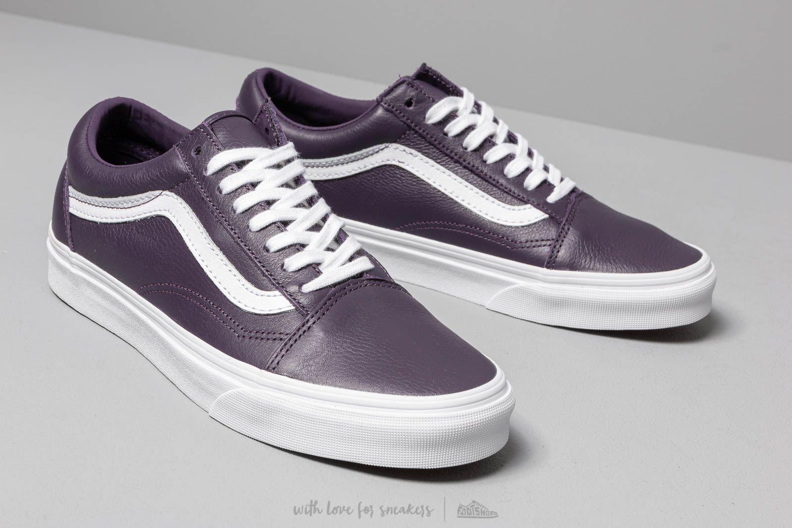 Vans Old Skool (Leather) Mysterioso True | Footshop