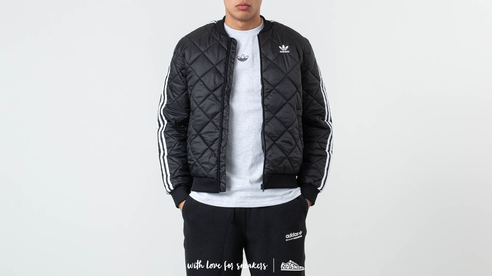 adidas Superstar Quilted Jacket Black at a great price 114 € buy at Footshop