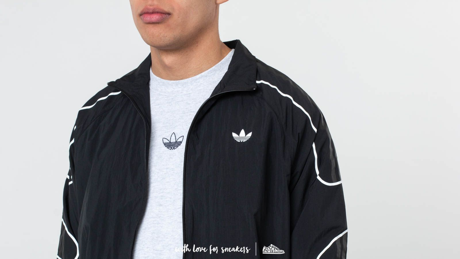 Vestes adidas Originals Flamestrike Woven Track Top Black