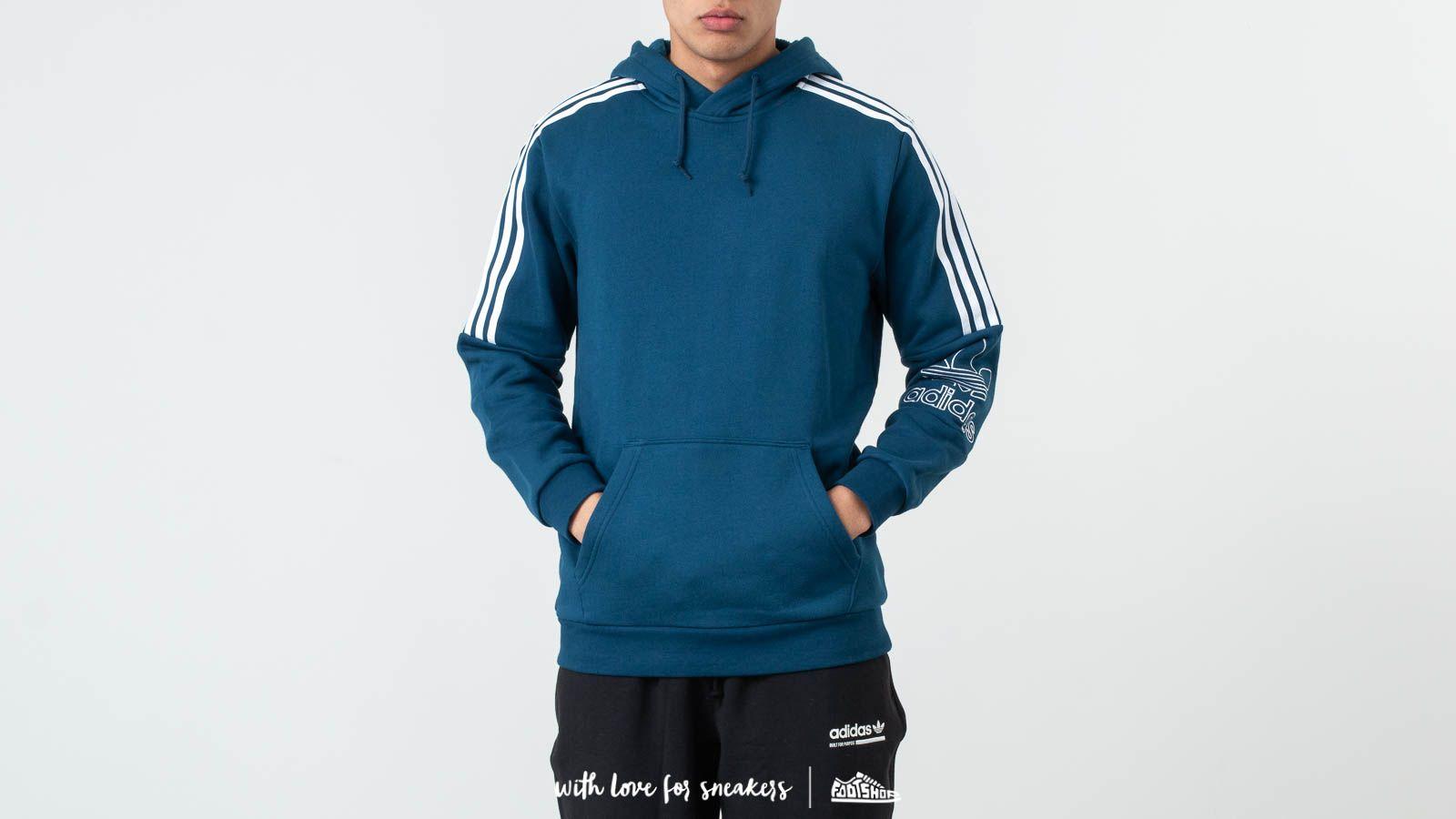 adidas Originals Outline Hoodie Legend Marine | Footshop