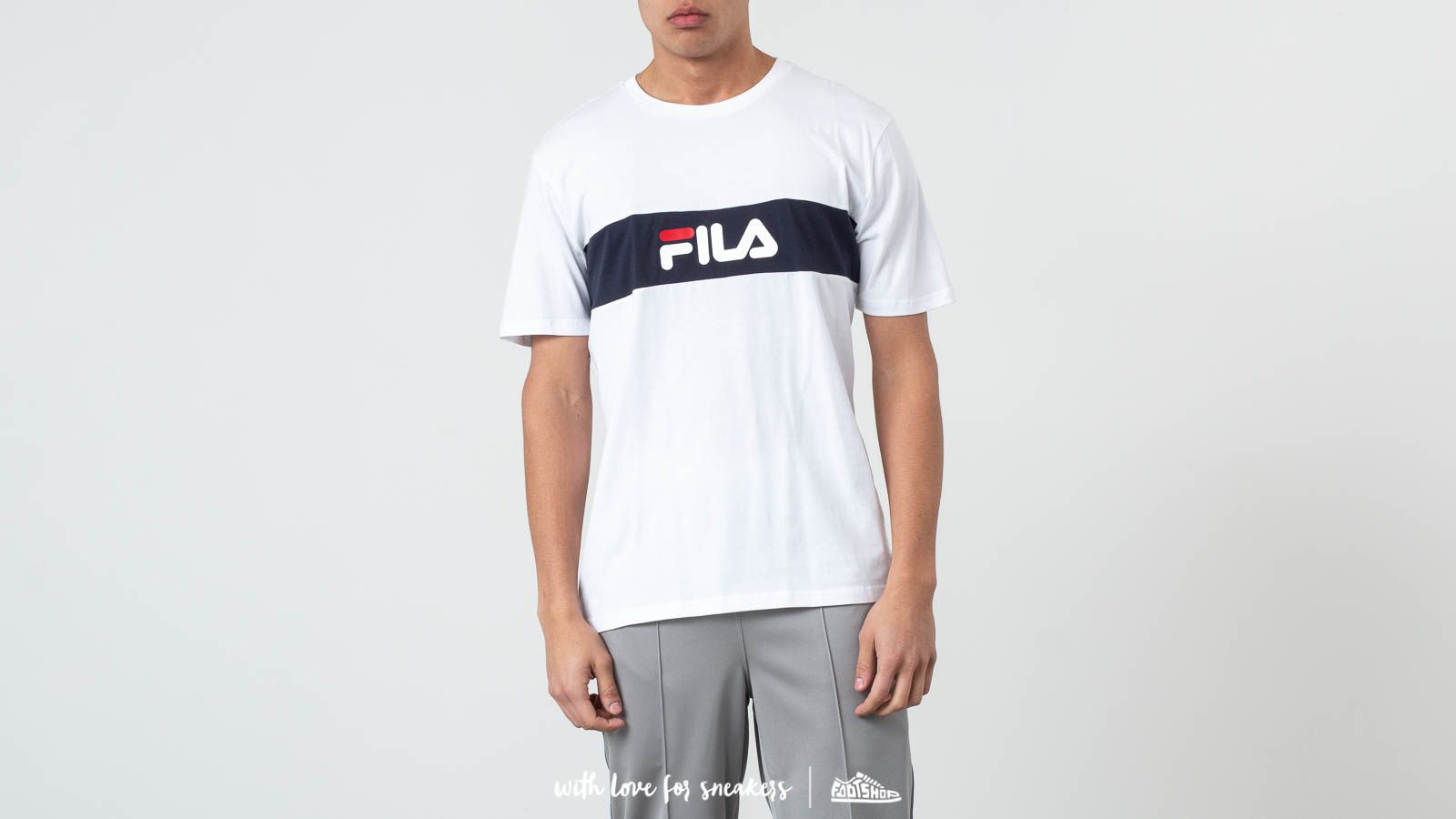 8e7afda0e44a Fila Nolan Dropped Shoulder Tee Bright White at a great price 33 € buy at  Footshop