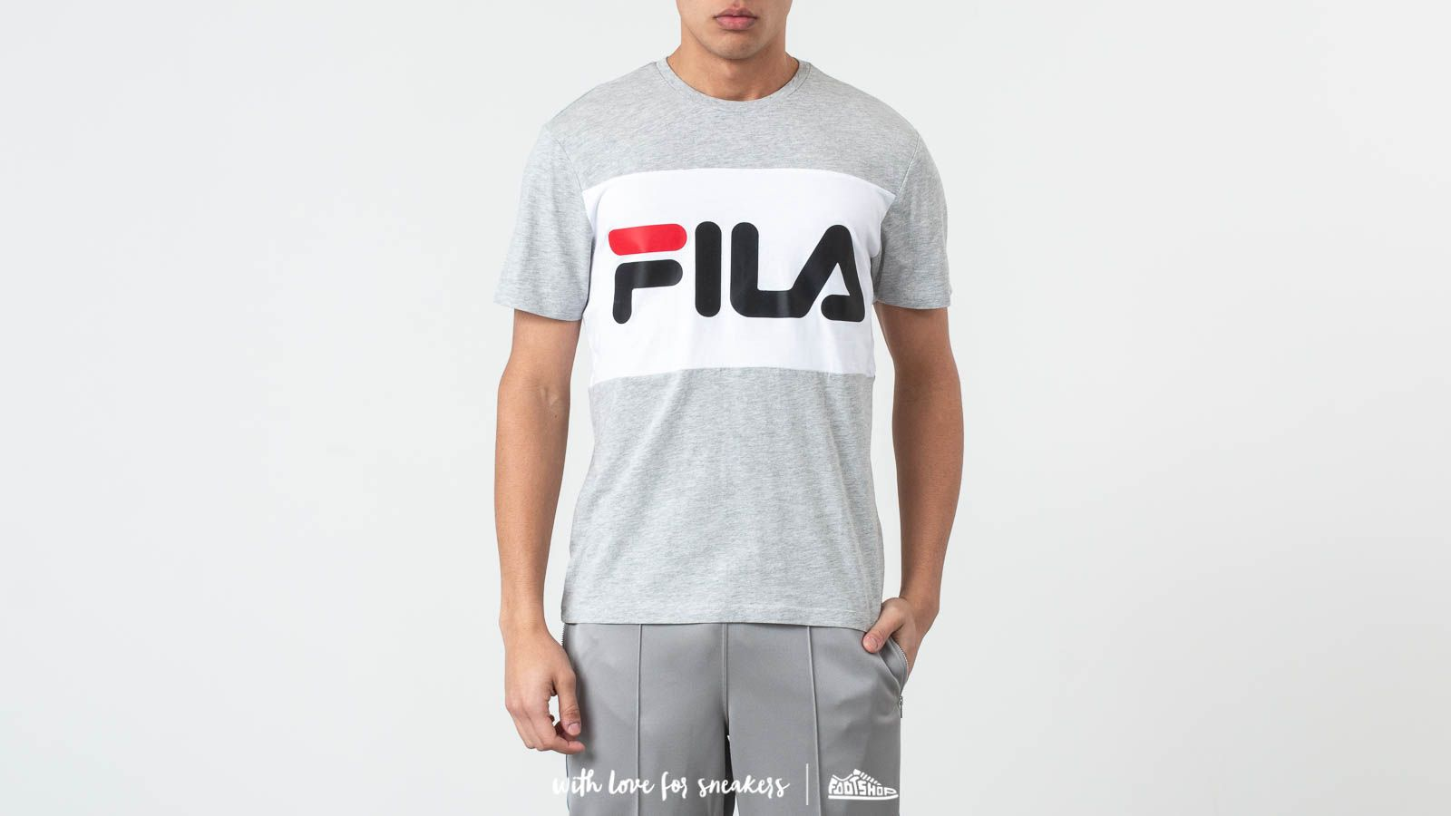 b807f3ef8f14 Fila Day Tee Light Grey/ Melange/ Bright White at a great price 33 €