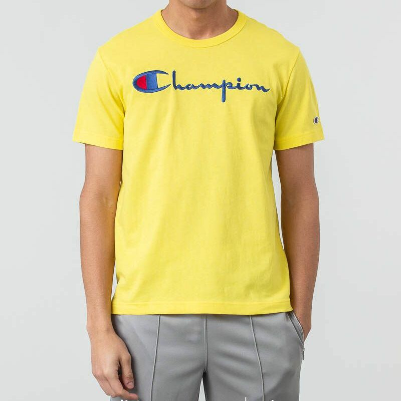 Champion Tee Yellow