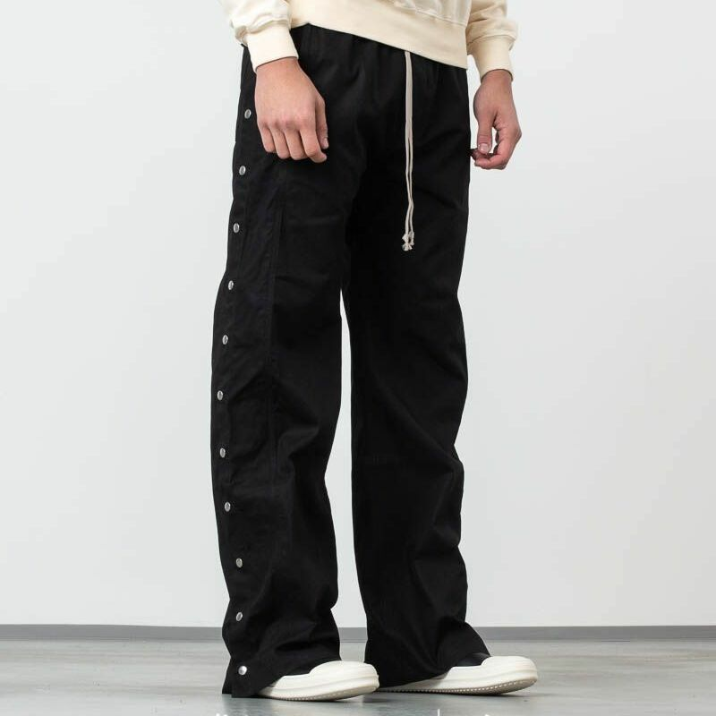 Rick Owens DRKSHDW Easy Pusher Pants Black