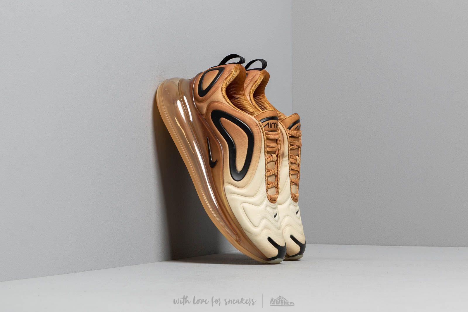 separation shoes 639af e2cf7 Nike W Air Max 720 Wheat  Black-Club Gold-Desert Ore at a