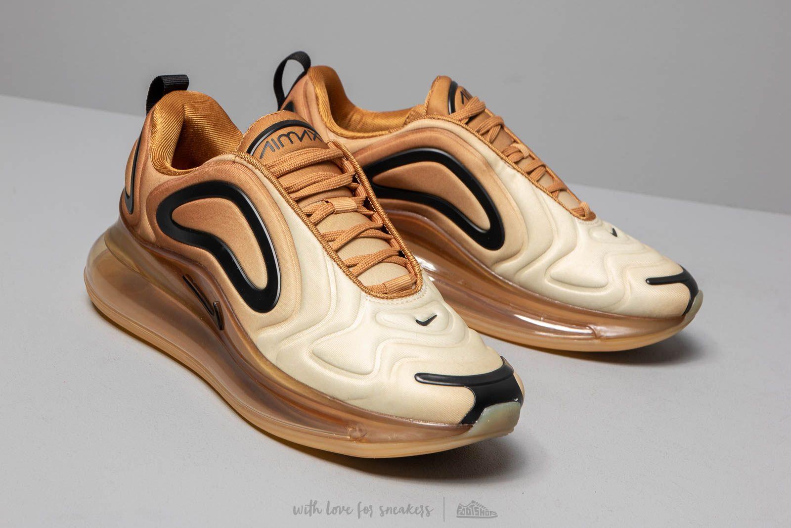 a96cd889bf6c4e Nike W Air Max 720 Wheat  Black-Club Gold-Desert Ore at a