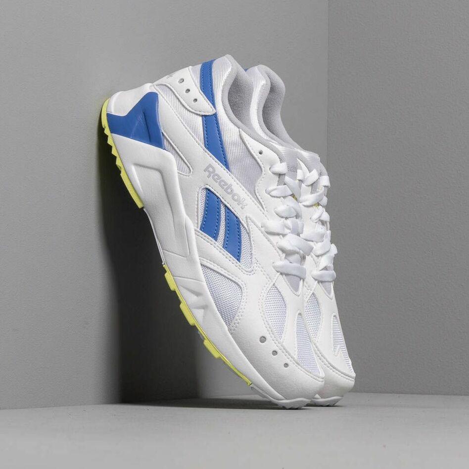 Reebok Aztrek White/ Cold Grey/ Cobalt/ Lime EUR 42.5