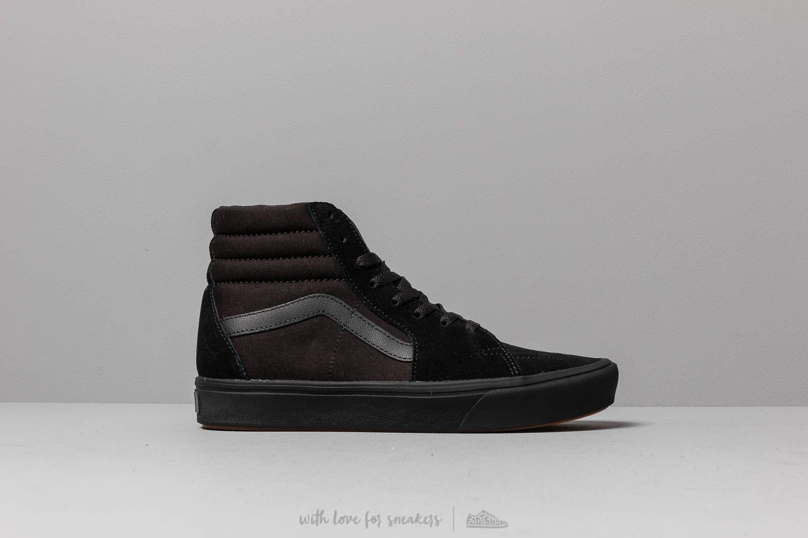 7785c1a135cba Vans ComfyCush SK8-Hi (Classic) Black/ Black | Footshop