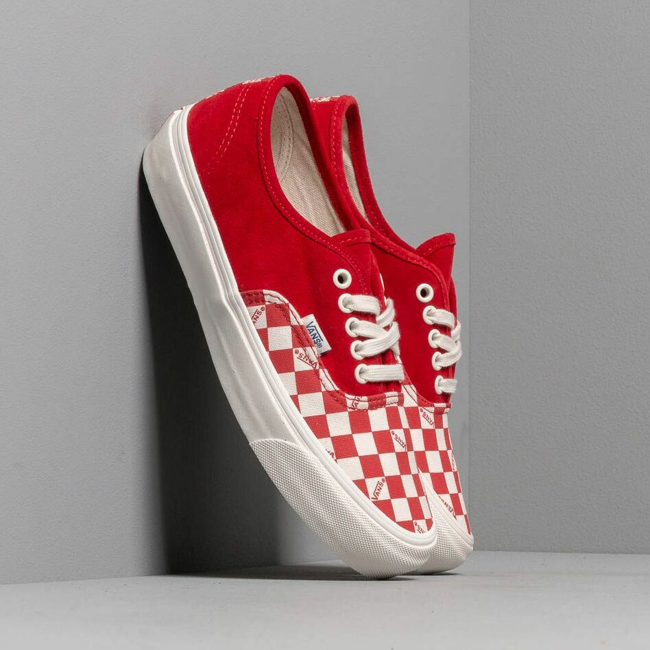 Vans OG Authentic LX (Suede/ Canvas) Racing Red EUR 44.5