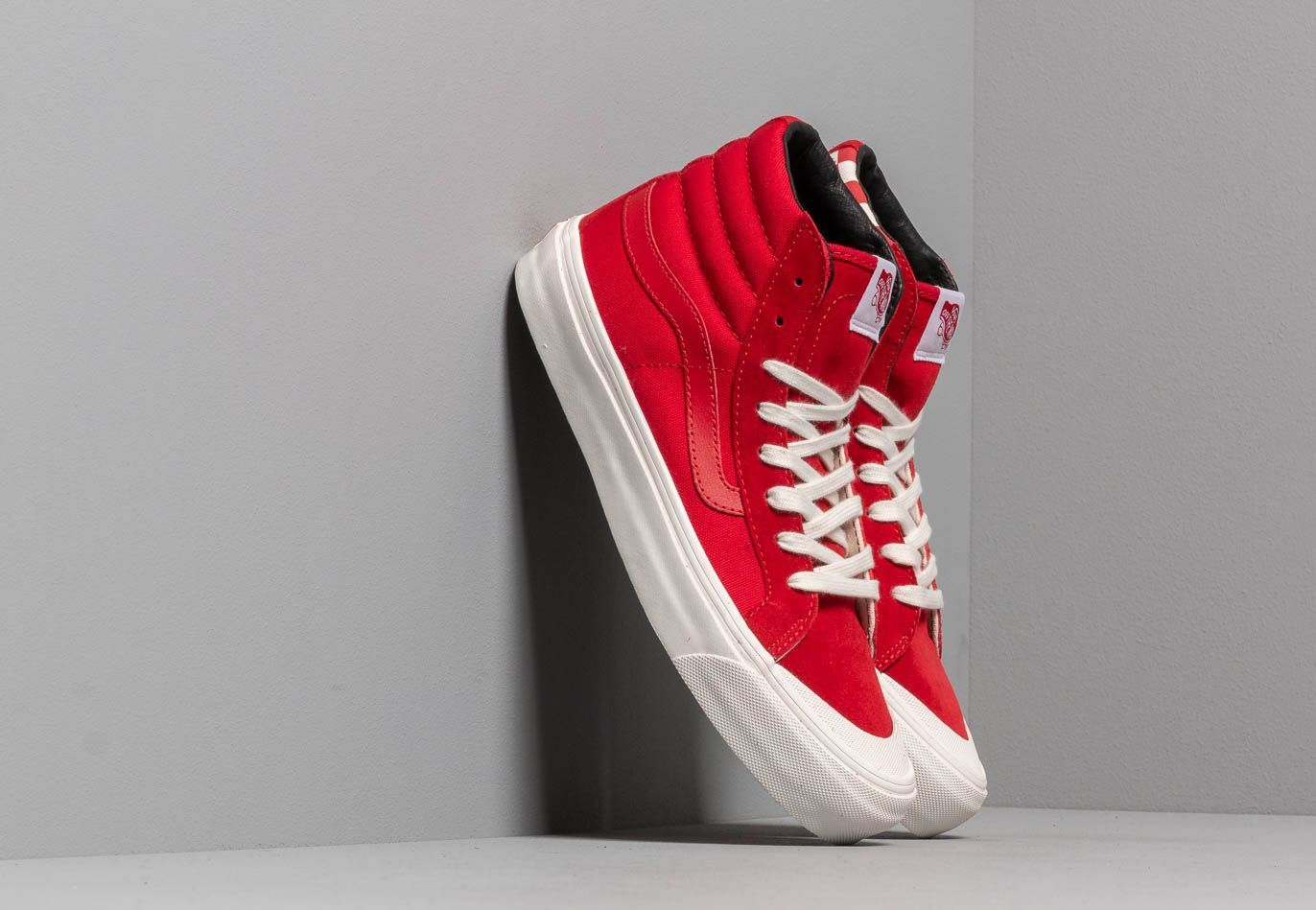 Vans OG Style 138 LX Suede Canvas Racing Red