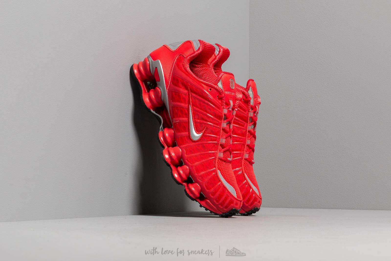 3b15c74bd76f8 Nike Shox TL Speed Red/ Metallic Silver | Footshop