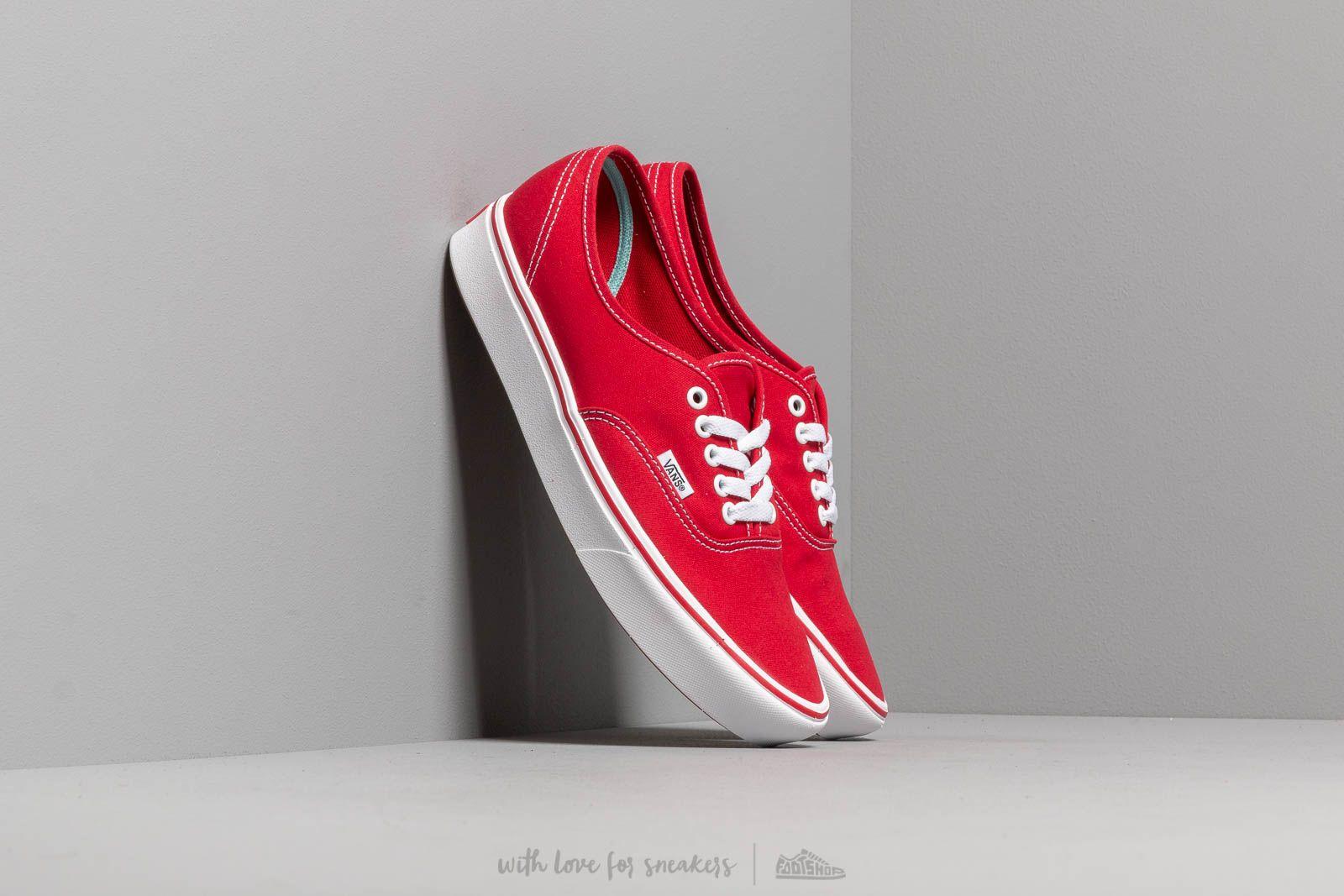 Vans ComfyCush Authentic (Classic) Racing Red/ True za skvelú cenu 62 € kúpite na Footshop.sk