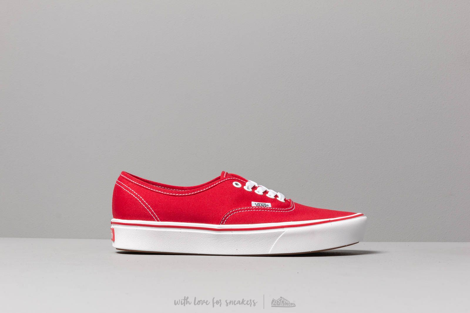 b7c22b9c34 Vans ComfyCush Authentic (Classic) Racing Red  True at a great price £57