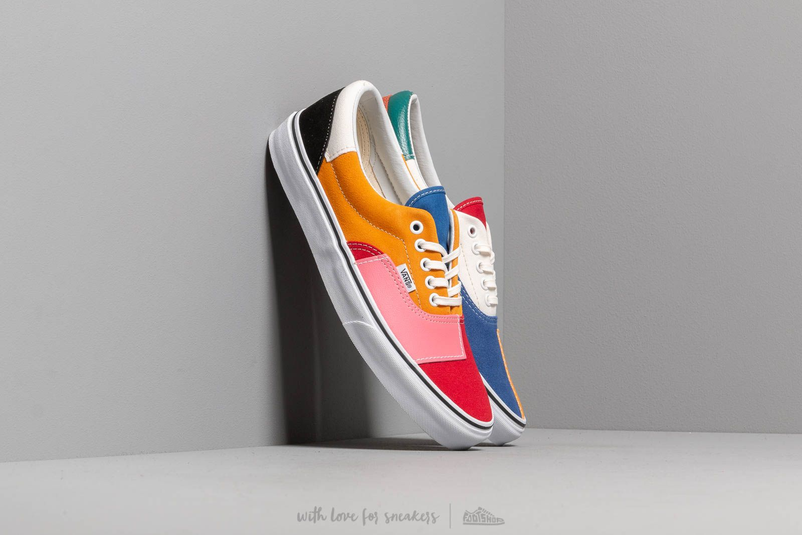 Vans Era (Patchwork) Multi True White | Footshop
