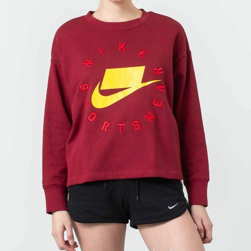 Nike Sportswear Fleece Crewneck Team Red