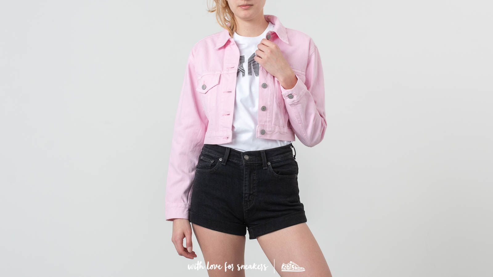 Levi's® Cropped Trucker Jacket
