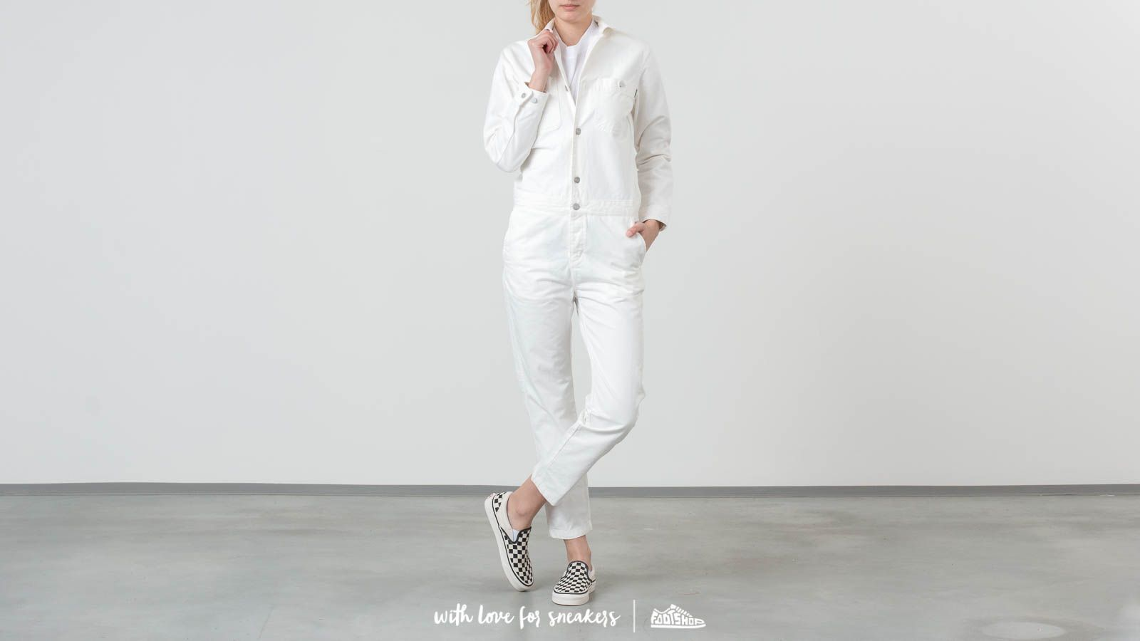 Carhartt WIP Cass Coverall Off White at a great price 152 € buy at Footshop