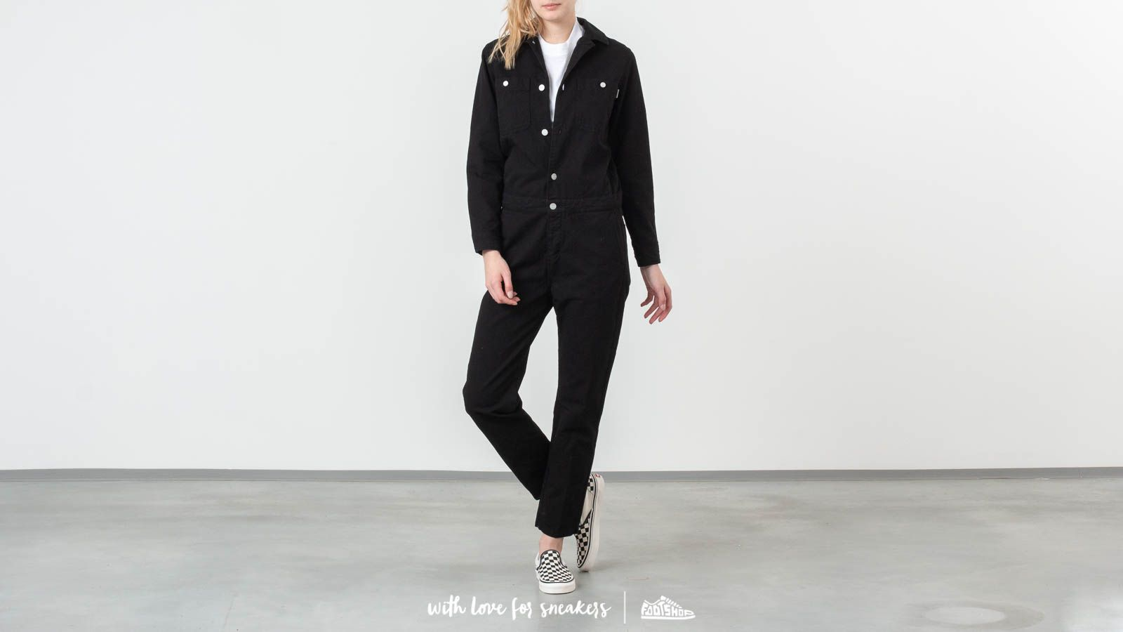 Carhartt WIP Cass Coverall Black at a great price 154 € buy at Footshop