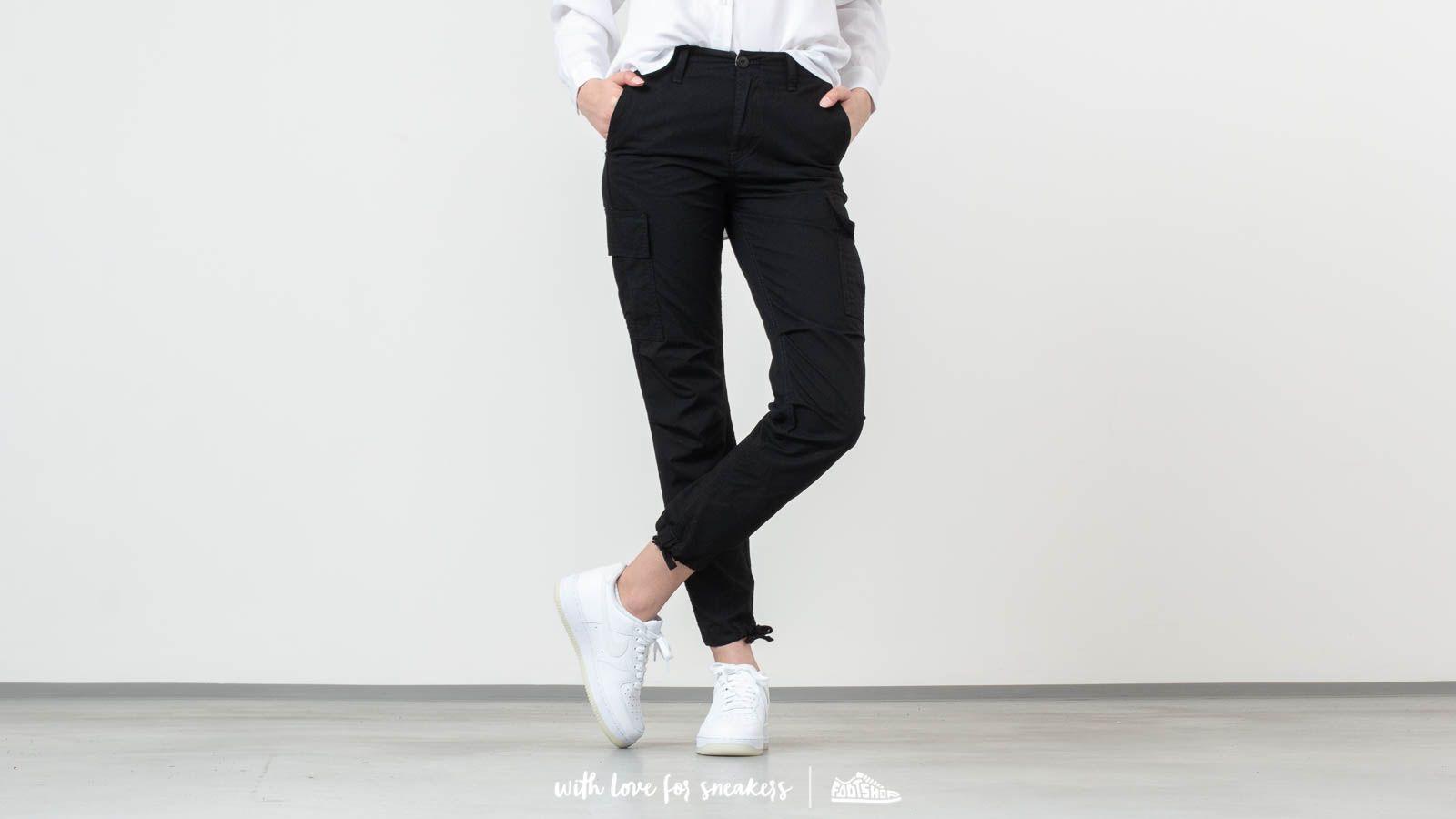 Carhartt WIP Cymbal Pants Black Rinsed at a great price 95 € buy at Footshop