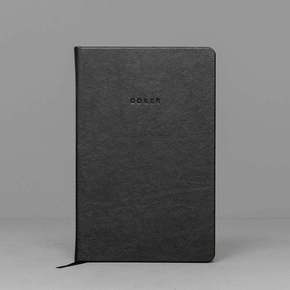 Doller CZ Motivation Diary 12 Months Black