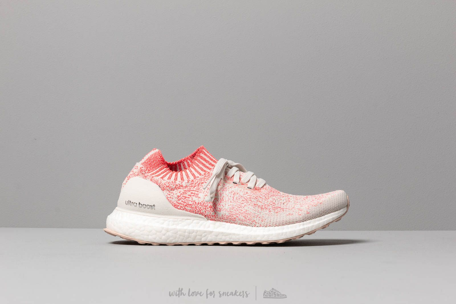 adidas ultra boost uncaged raw white