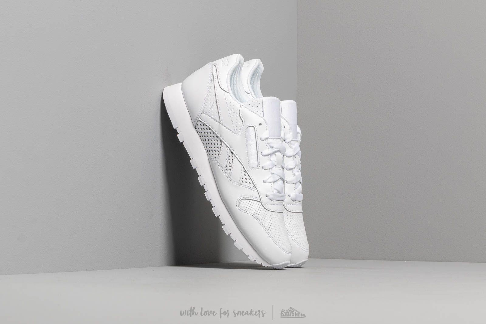 Women's shoes Reebok Classic Leather W White/ White