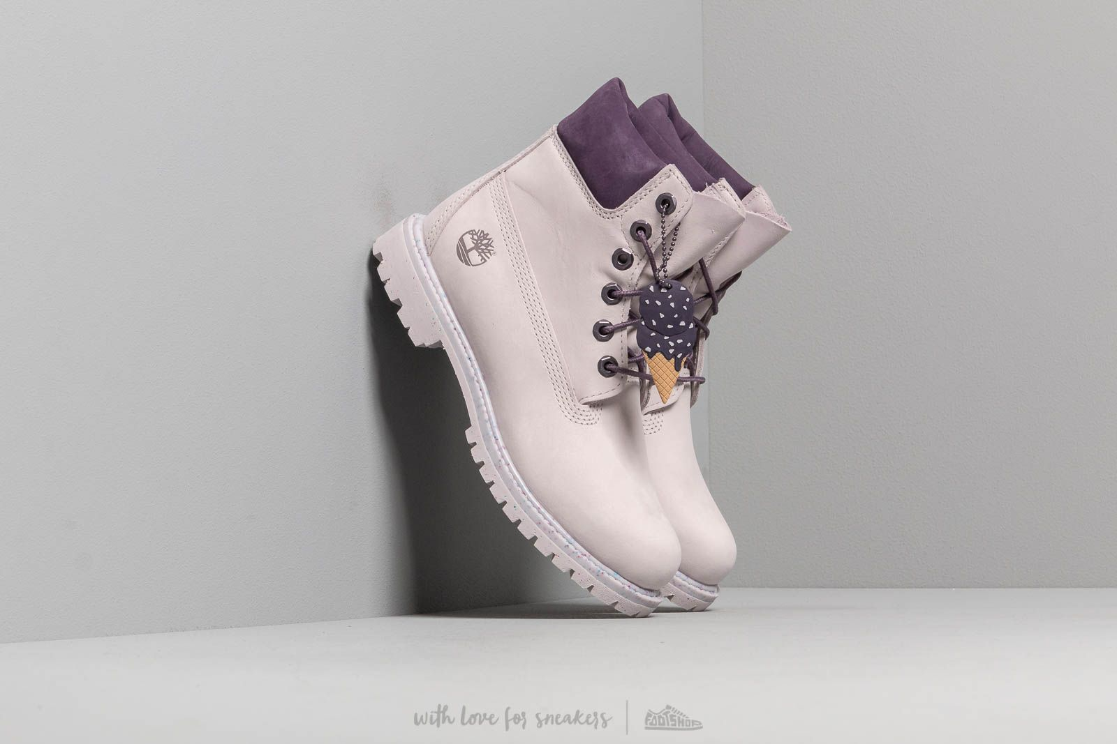 Timberland Premium 6 In Waterproof Boot Light Purple Nubuck