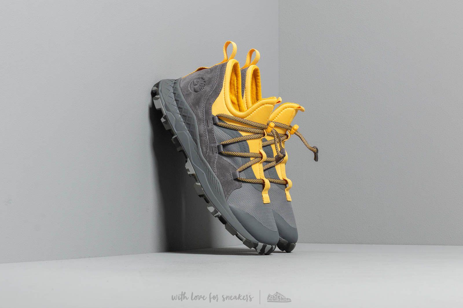 Timberland Brooklyn Leather/ Fabric Ox Medium Grey Mesh/ Yellow za skvelú cenu 106 € kúpite na Footshop.sk