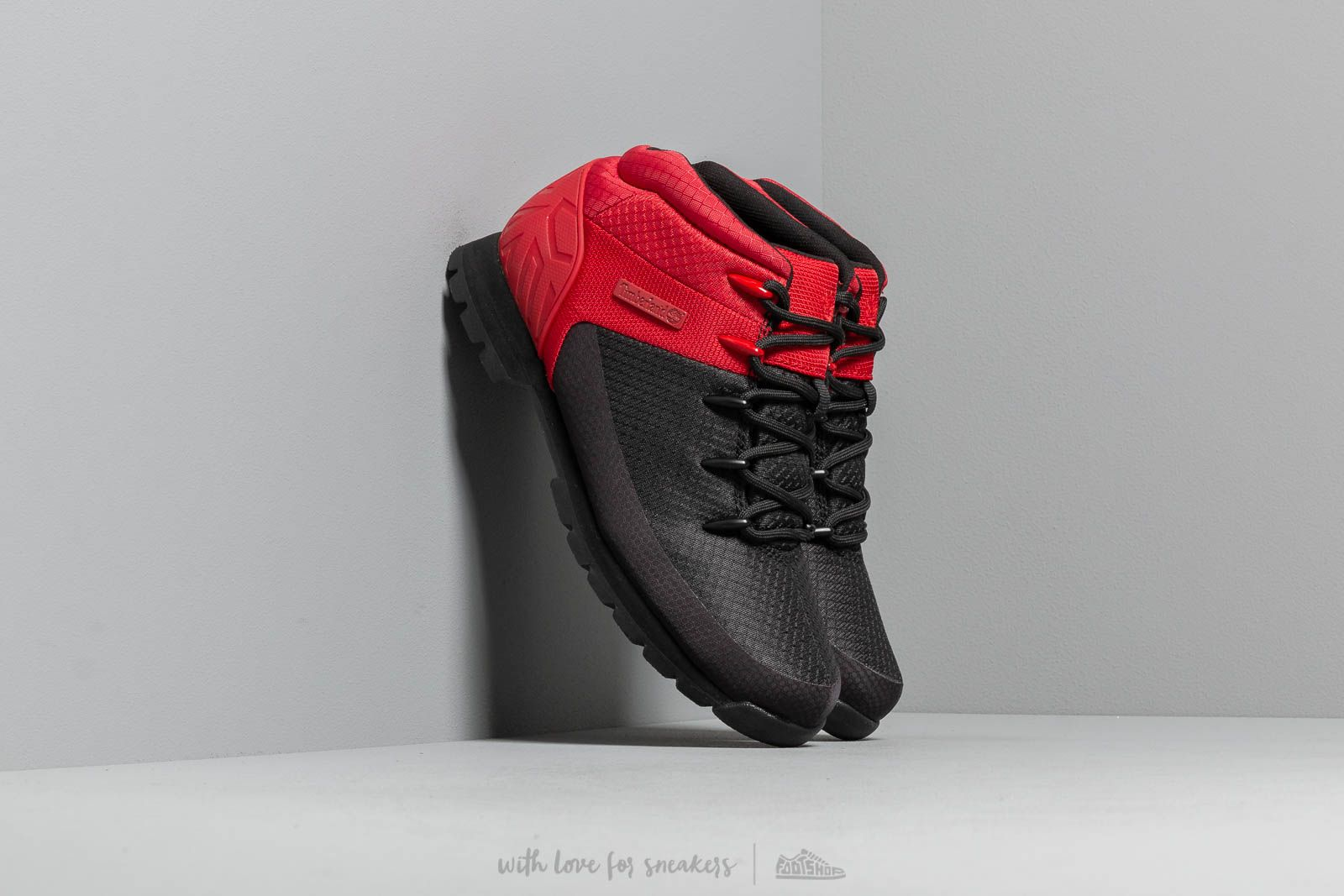 most reliable outstanding features latest selection of 2019 Timberland Euro Sprint Mid Hiker Black/ Red | Footshop