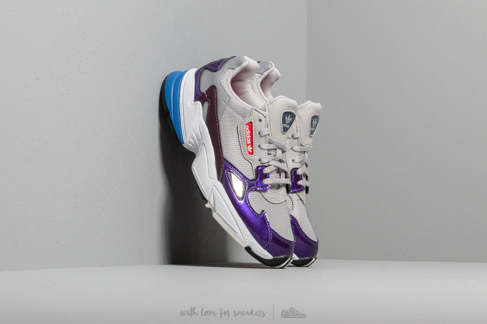 adidas Falcon W Grey Two Grey Two Crystal White   Footshop