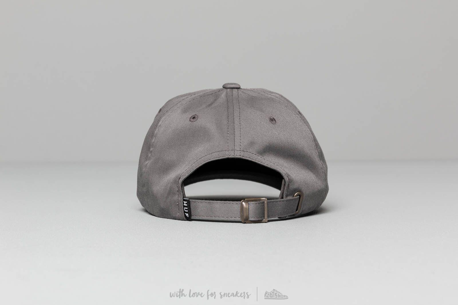 4e7377f8 HUF Og Logo Curved Visor Hat Charcoal at a great price $45 buy at Footshop