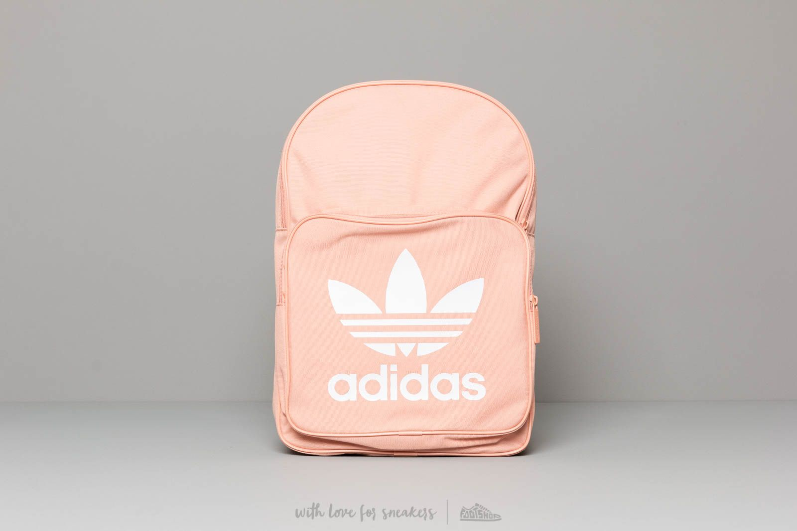 64b56df1a adidas Classic Trefoil Backpack Dust Pink at a great price $32 buy at  Footshop