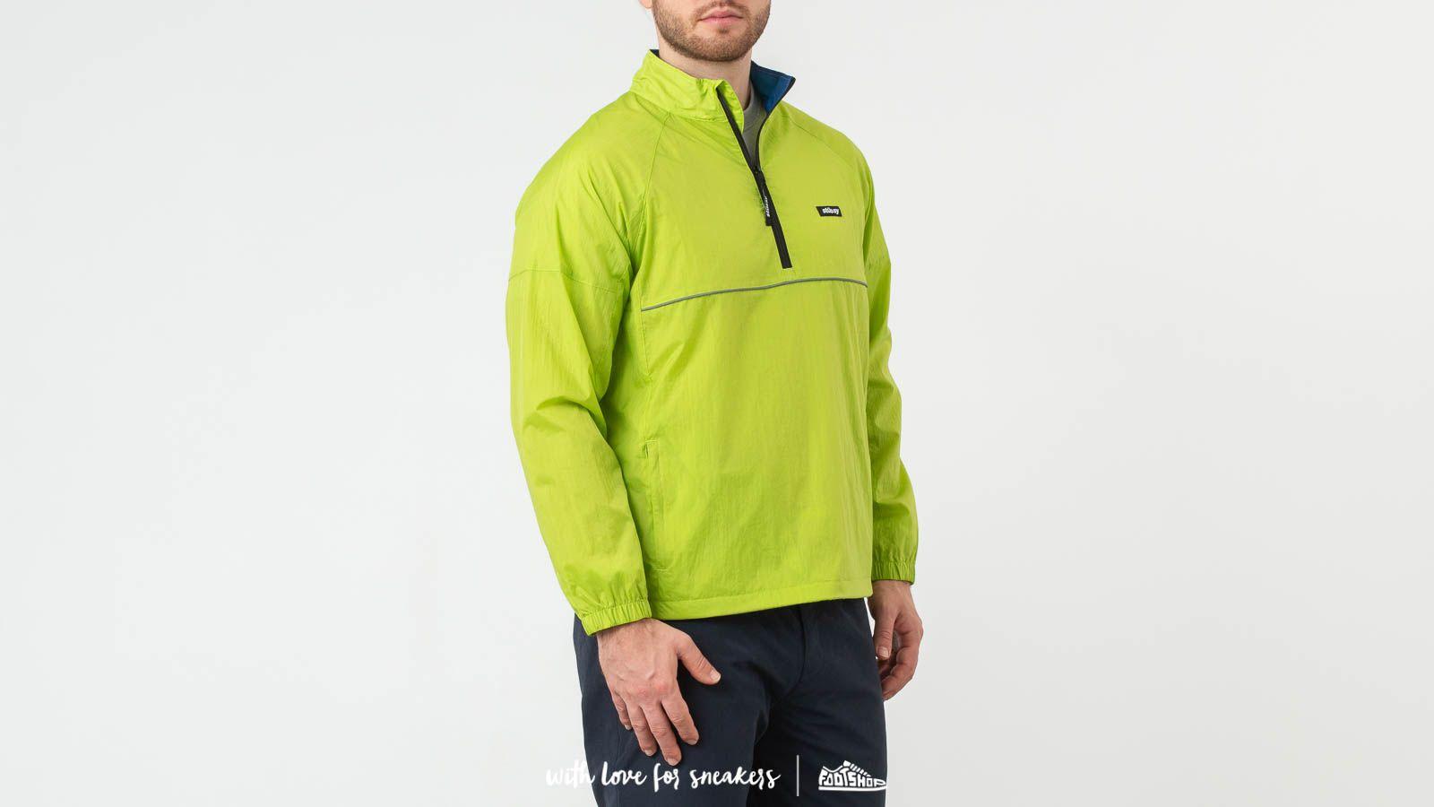 Vestes Stüssy Sport Pullover Jacket Green
