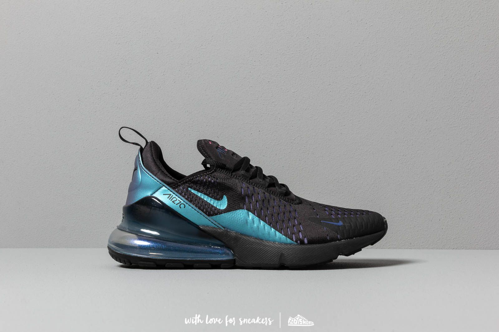 2b5d92dc26878 Nike Air Max 270 Black/ Laser Fuchsia-Regency Purple at a great price 139