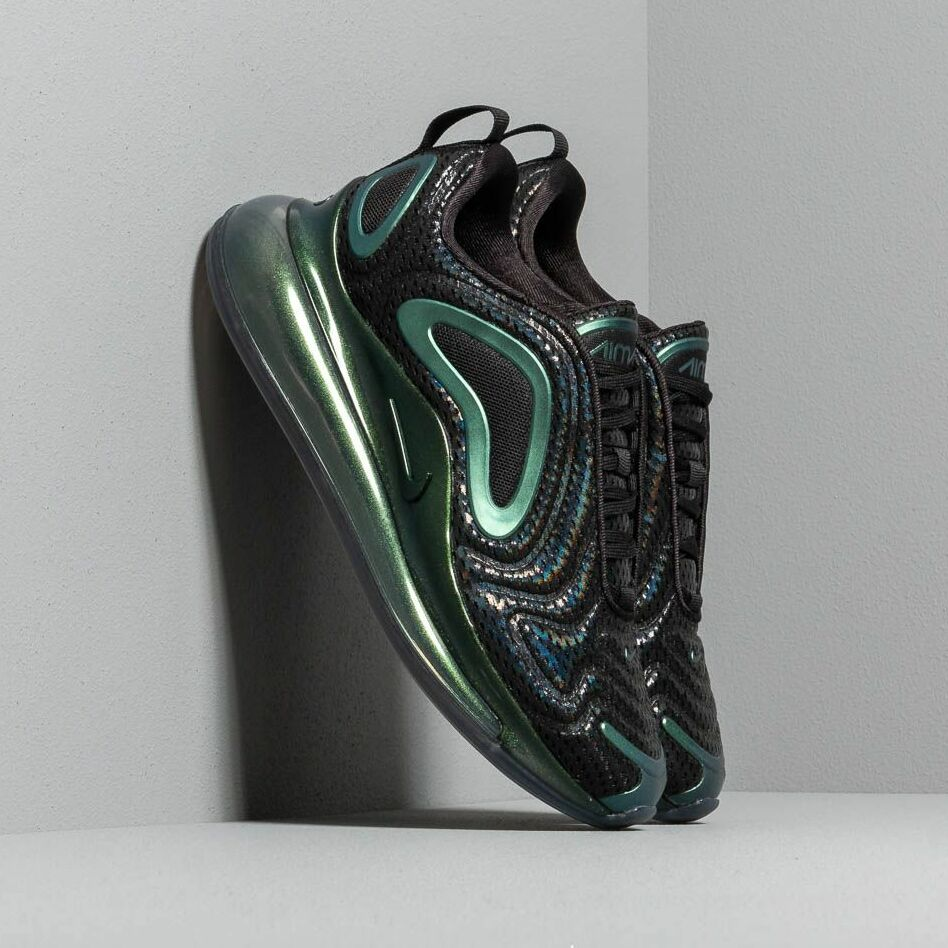 Nike W Air Max 720 Black/ Black-Metallic Silver