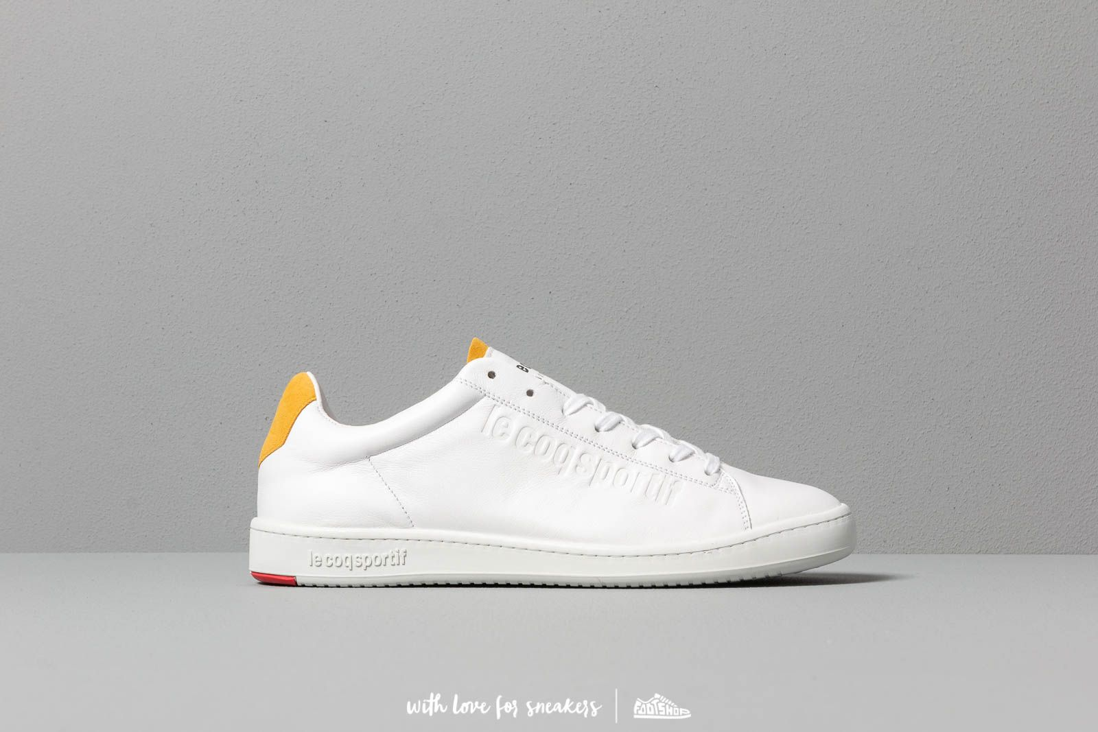 best sneakers cee39 09987 le coq sportif Blazon Optical White  Yellow at a great price 149 € bestell  bei