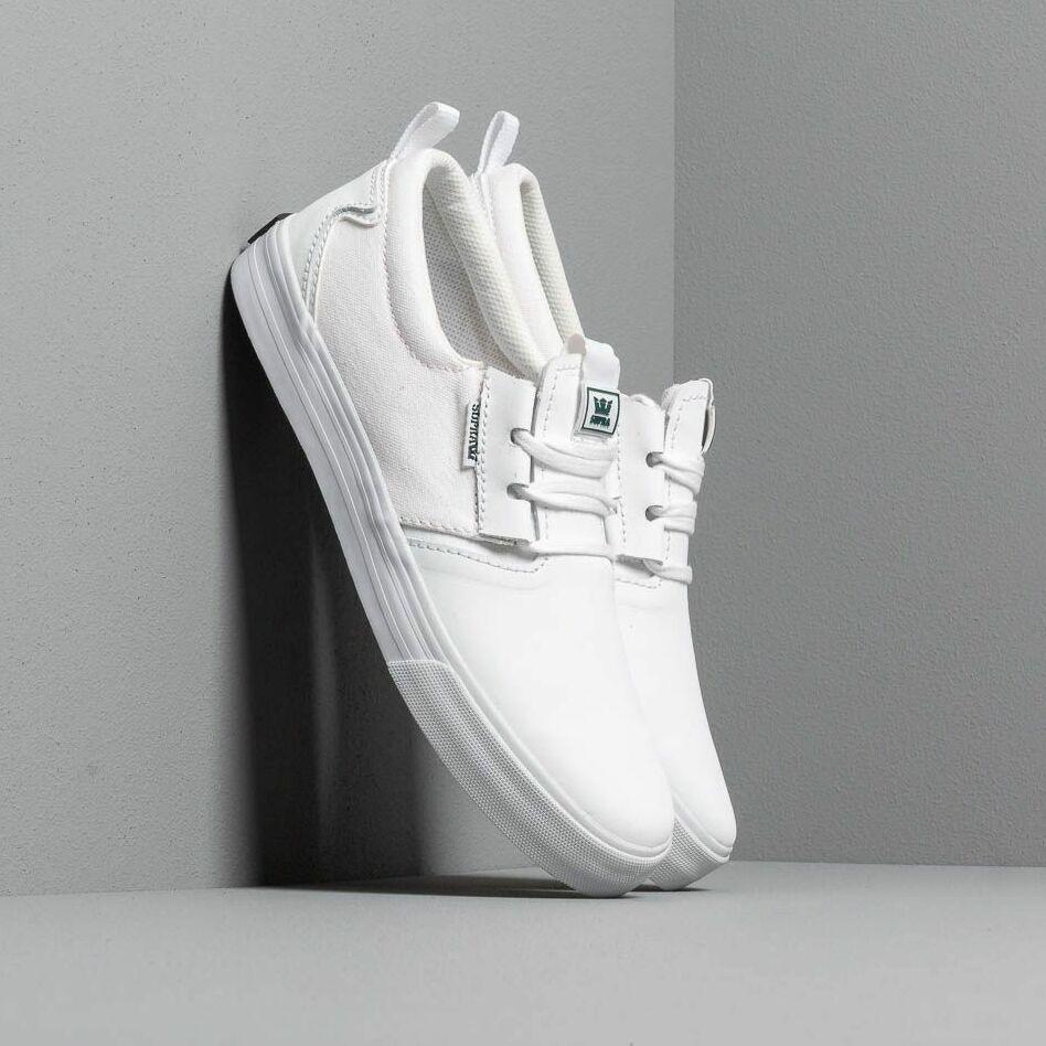 Supra Flow White/ White/ Gum EUR 43