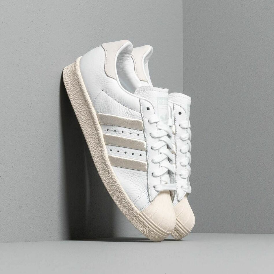 adidas Superstar 80S W Ftw White/ Grey One/ Off White EUR 39 1/3