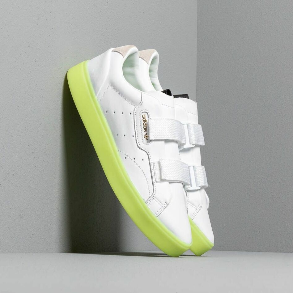 adidas Sleek S W Ftw White/ Ftw White/ Hi-Res Yellow EUR 40 2/3