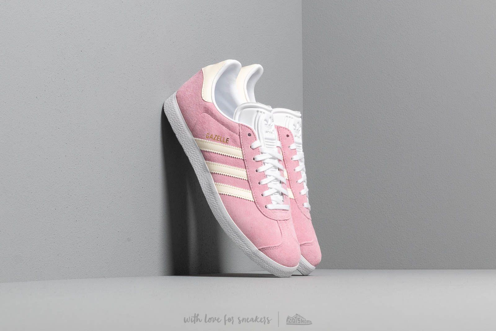 adidas Gazelle W True Pink/ Ecru Tint/ Ftw White at a great price 87 € bestell bei Footshop