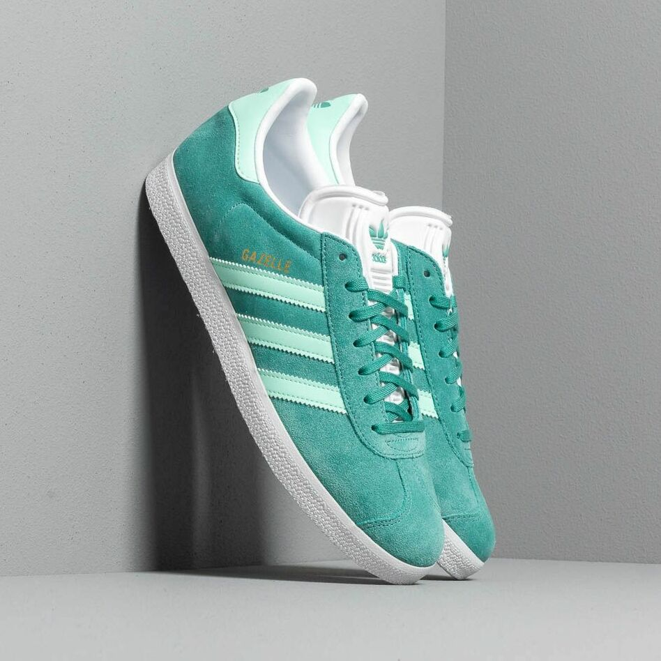 adidas Gazelle True Green/ Clear Mint/ Ftw White EUR 44 2/3