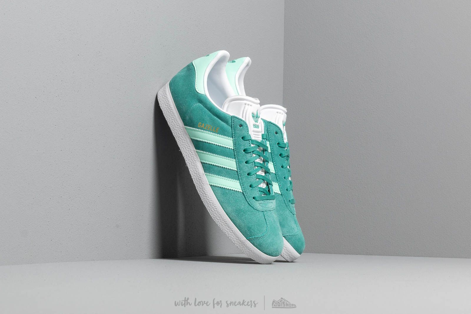 adidas Gazelle True Green/ Clear Mint/ Ftw White at a great price 87 € bestell bei Footshop
