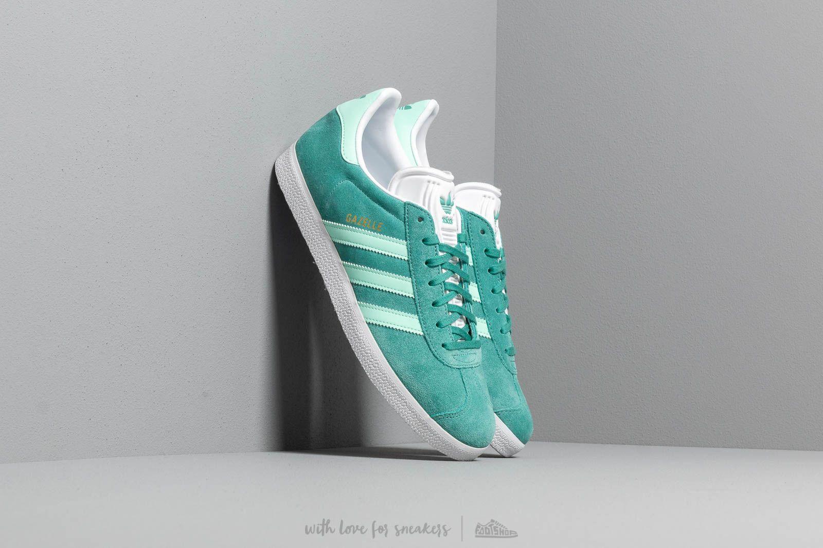 adidas Gazelle True Green/ Clear Mint/ Ftw White W super cenie 405 zł kupuj na Footshop.pl