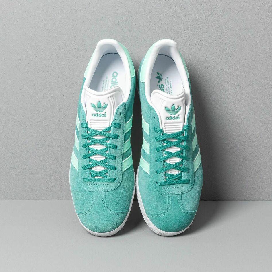 adidas Gazelle True Green/ Clear Mint/ Ftw White