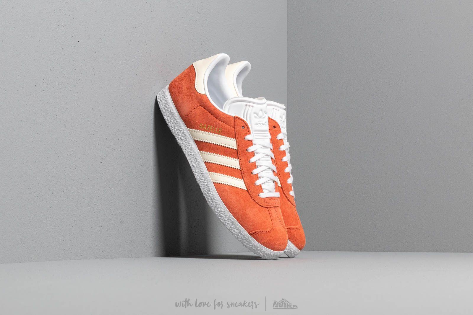 Dámske topánky a tenisky adidas Gazelle W Raw Amber/ Ecru Tint/ Ftw White