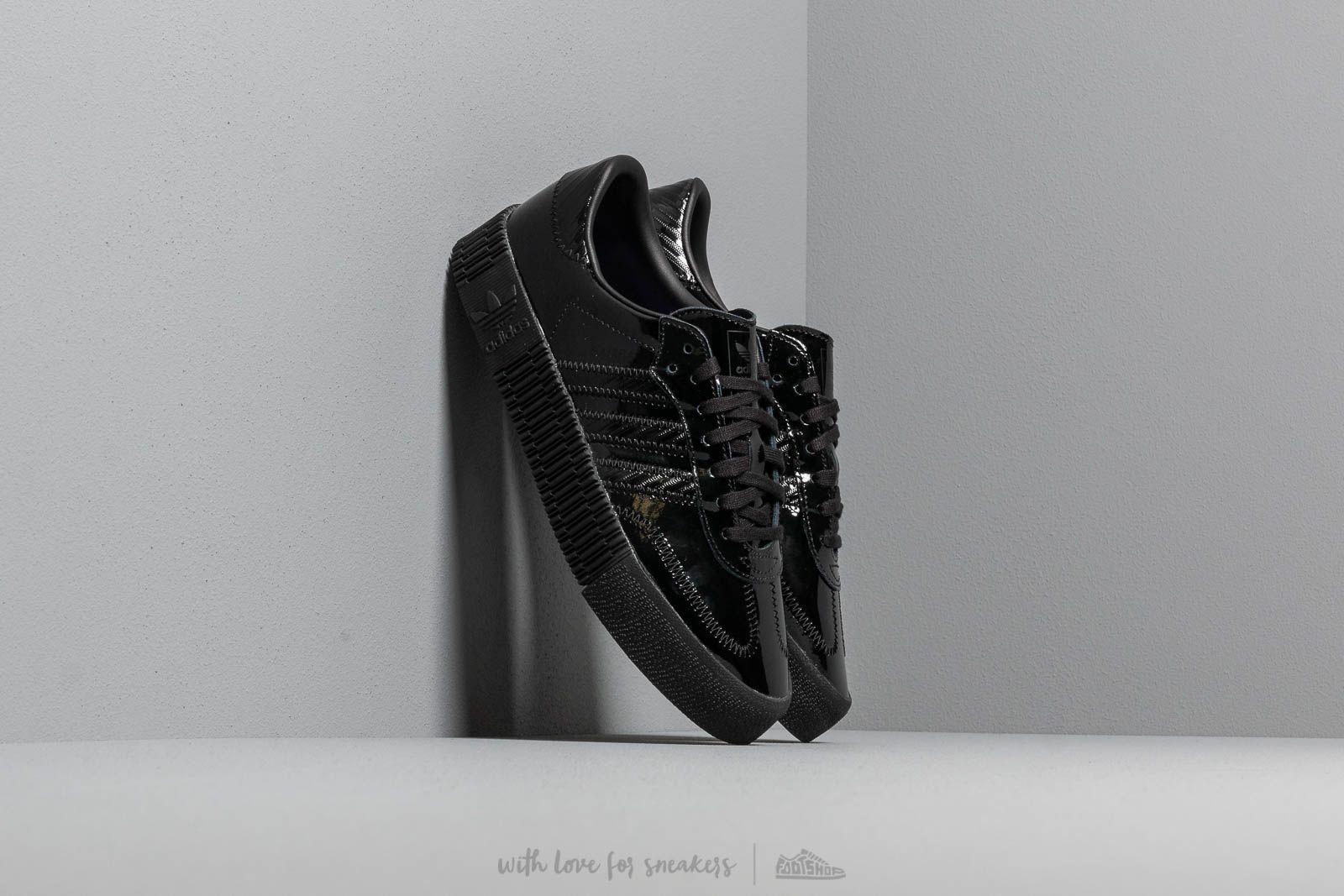 Scarpe e sneaker da donna adidas Sambarose W Core Black/ Core Black/ Actpur
