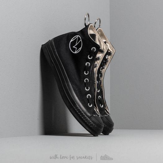 Descodificar Vaciar la basura la carretera  Men's shoes Converse x Undercover Chuck 70 Hi Black/ Black/ Black/ Natural  | Footshop