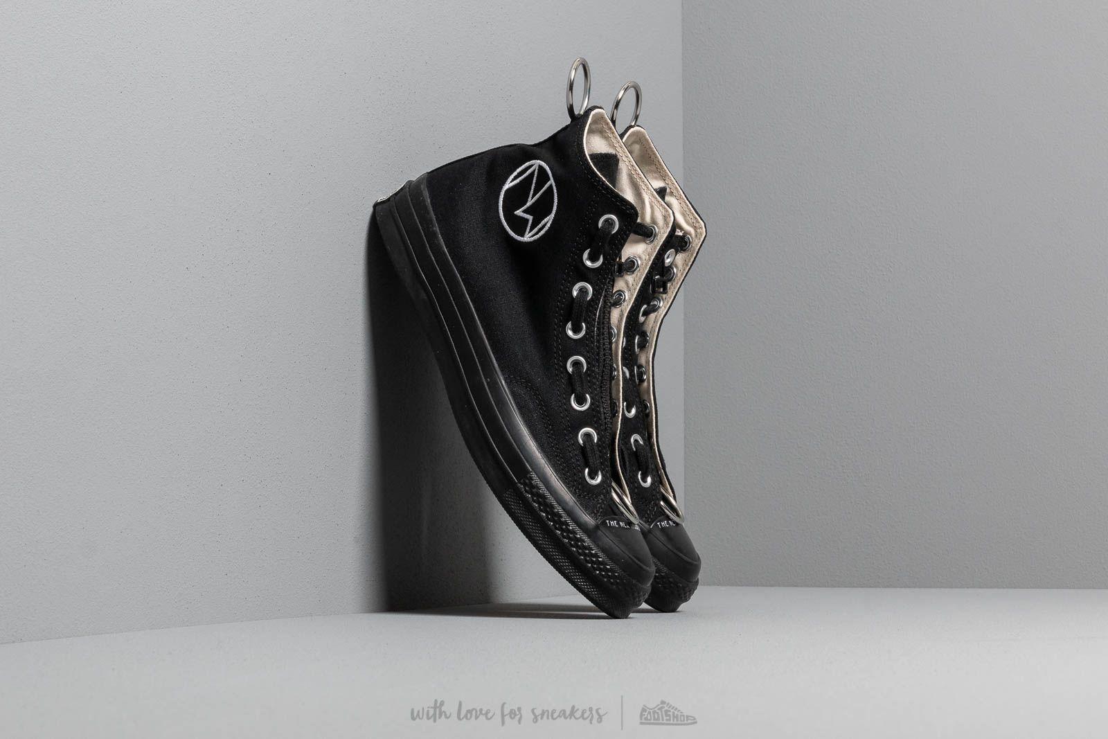Converse x Undercover Chuck 70 Hi Black/ Black/ Black/ Natural