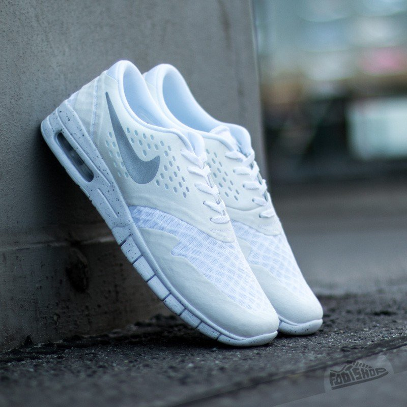 buy popular 421c1 d5c5a Nike Eric Koston 2 Max White  Metallic Silver-Black