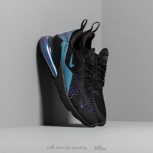 Nike Air Max 270 (GS) Black Laser Fuchsia Regency Purple